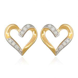 Corazón de cinta con piedras