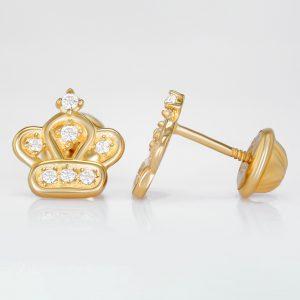 Corona real con piedra